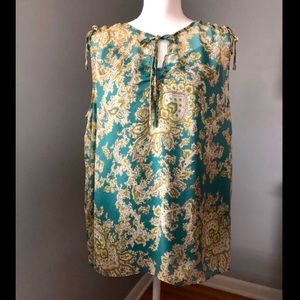 Talbots Women's Blouse Large with camisole